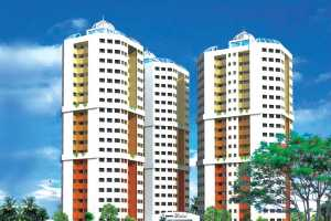 2BHK Luxury Apartment for Rent - Kent Mahal - Infopark